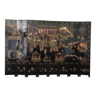 20th Century Chinese Coromandel Screen