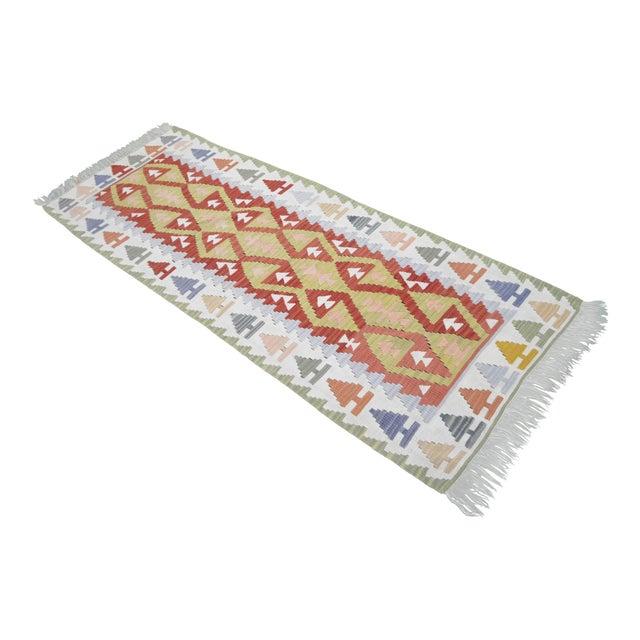 Vintage Turkish Handmade Kilim Runner Rug - 2′7″ × 6′10″ - Image 1 of 9