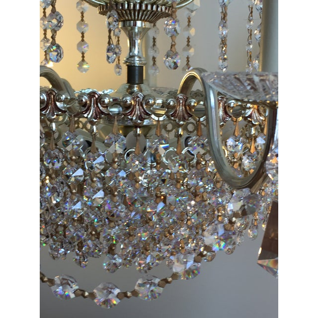 Schonbek Swarovski Strass Crystal Chandelier For Sale - Image 5 of 7