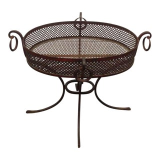 Directoire Style Wrought Iron Planter