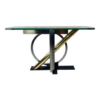 Postmodern Kaizo Oto for Design Institute America Console Table For Sale
