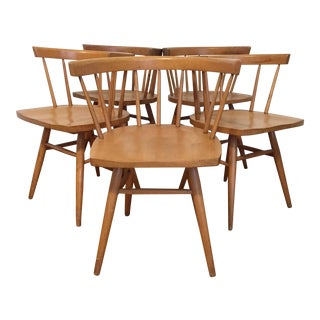 1960s Vintage Paul McCobb Style Planner Line Chairs- Set of 5 For Sale