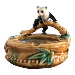 Vintage Panda Ashtray For Sale