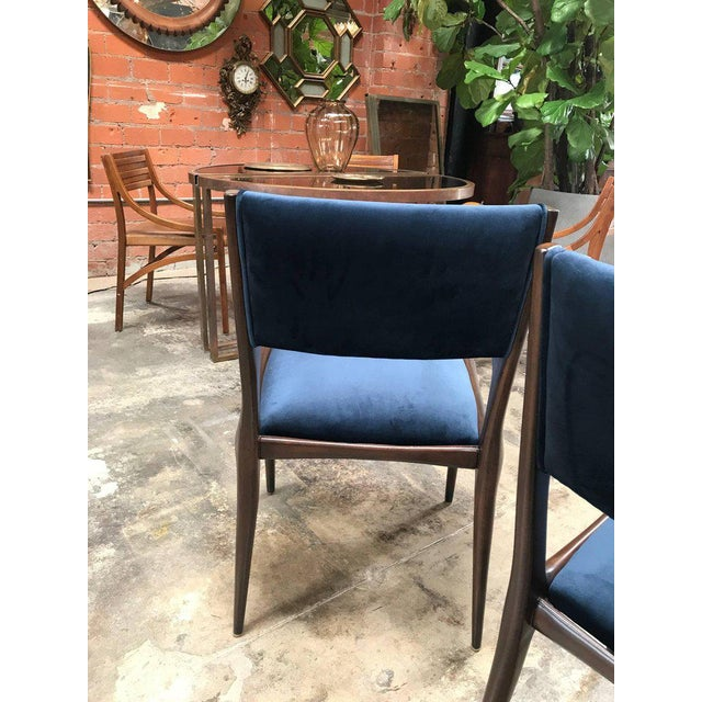 Carlo de Carli Chairs Set of Eight Including Two Chairs with Armrest 1951 For Sale - Image 4 of 7