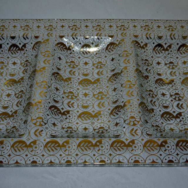 Georges Briard Mid-Century Divided Server Tray - Image 6 of 7