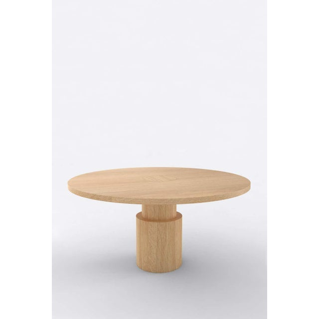 Orphan work 100C Dining Table, 2020 Shown painted. Available with painted top and base. Colors available: pink, mint,...