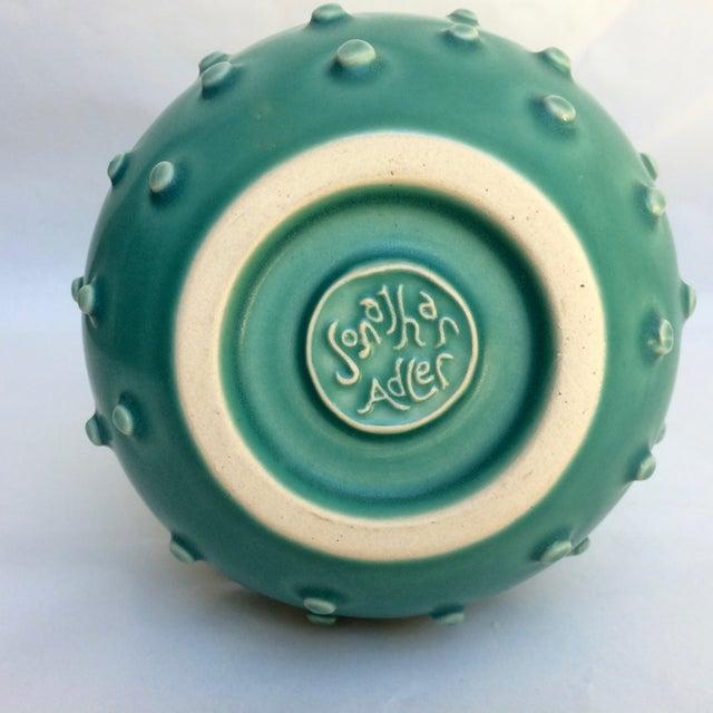 Jonathan Adler Jonathan Adler Turquoise Gourd Vase For Sale - Image 4 of 4