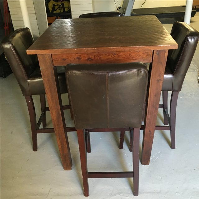 Provence Pub Table With Henry Pub Stools - Image 2 of 5
