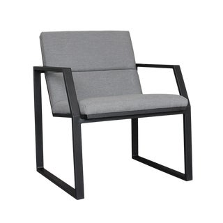 Stark Modern Dining Arm Chair For Sale