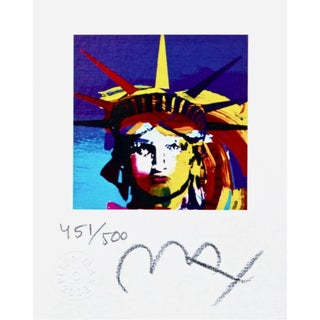 Peter Max Liberty Head VII 2003 For Sale