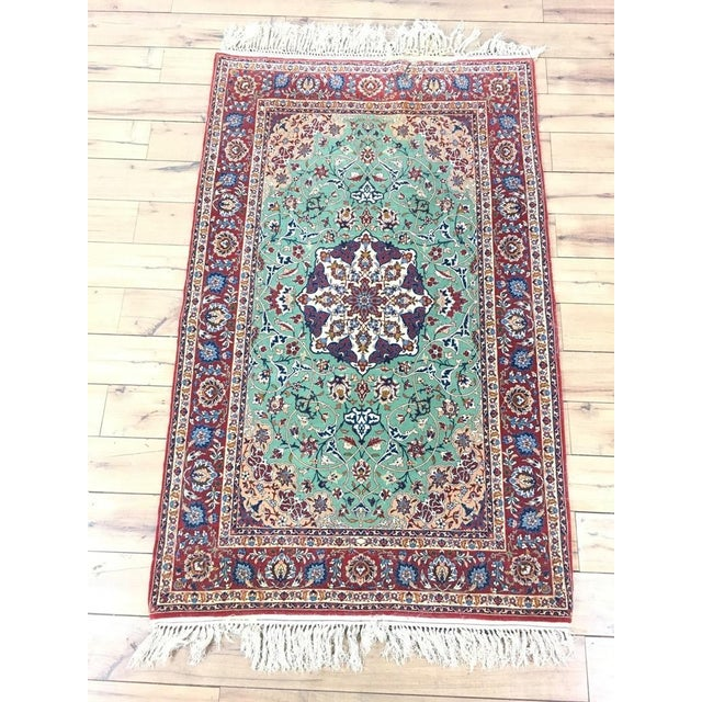 Contemporary Kashan Style Rug - 3′2″ × 5′8″ - Image 4 of 4