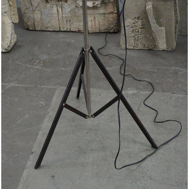 Mid-Century Modern Roland Smith Tripod Floor Lamp For Sale - Image 3 of 9