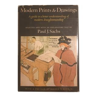"""Modern Prints & Drawings"" 1954 Art Book For Sale"