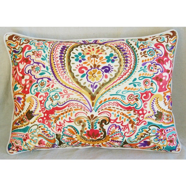 Custom Colorful Cotton & Linen Pillows - Pair - Image 4 of 11