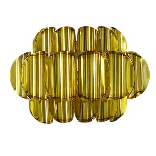 Denmark 1960s Werner Schou for Coronell Electro Brass Wall Sconce 74