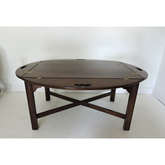 Drexel Heritage Butler's Table For Sale - Image 5 of 6