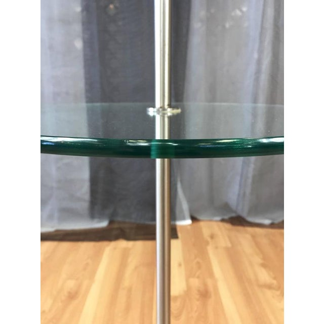 Laurel tulip base floor lamp with floating glass table chairish laurel tulip base floor lamp with floating glass table image 4 of 8 aloadofball Gallery