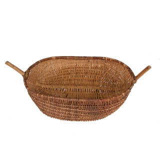 Antique French Chestnut Basket Preview