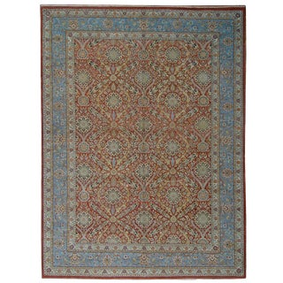 "Pasargad Tabriz Wool Area Rug - 10' 0"" x 13' 9"""
