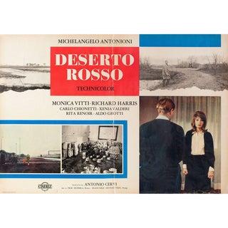 Red Desert 1964 Italian Fotobusta Film Poster For Sale