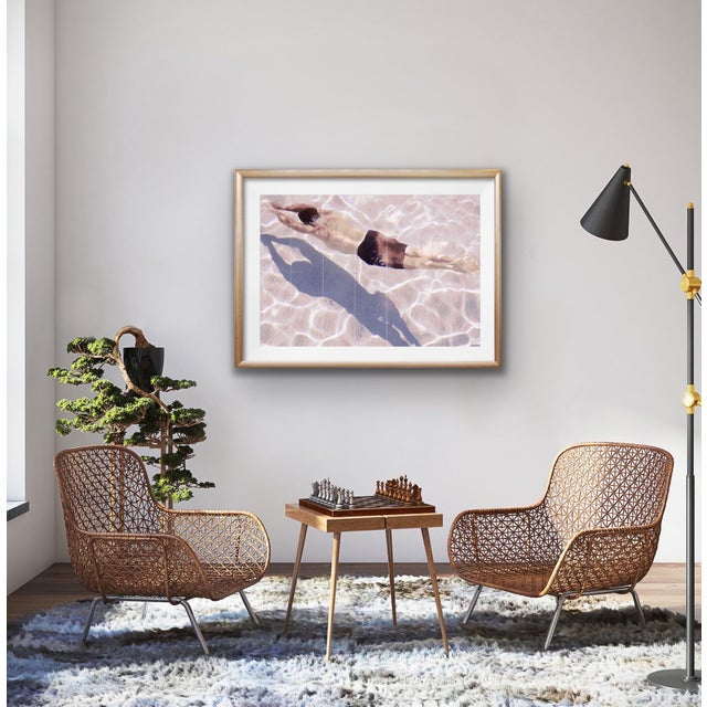 """Contemporary Original Signed Numbered Limited Edition Photograph """"Synchronized Swim"""" by Patricia P. Abreu For Sale - Image 3 of 6"""