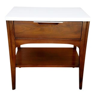 1960s Kent Coffey Walnut Nightstand