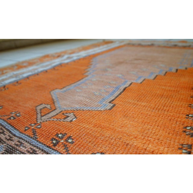 1940s Hand Made Antique Turkish Anatolian Prayer Rug - 3′3″ × 4′7″ For Sale - Image 9 of 10