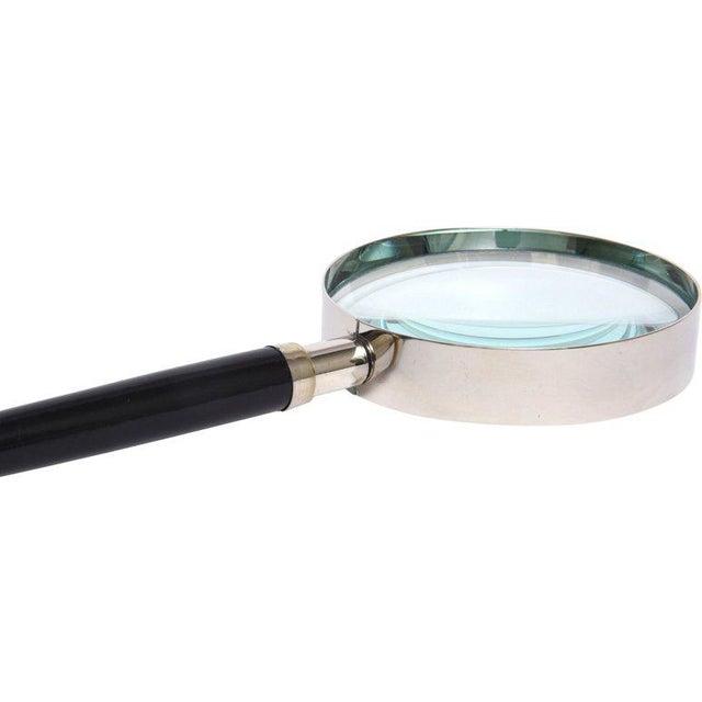 Bakelite 20th Century Hollywood Regency Rhinestone Bakelite Deco Ball Magnifier For Sale - Image 4 of 8