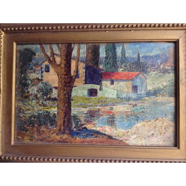 """""""El Arbol"""" Oil Painting by Miles J. Early - Image 3 of 6"""