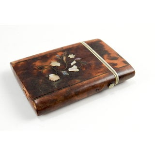 Antique Tortoise Shell Inlay Card Case Preview