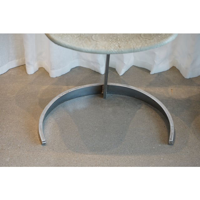 1970s Pair of Vintage Chairs by Boris Tabocoff Chairs For Sale - Image 5 of 12