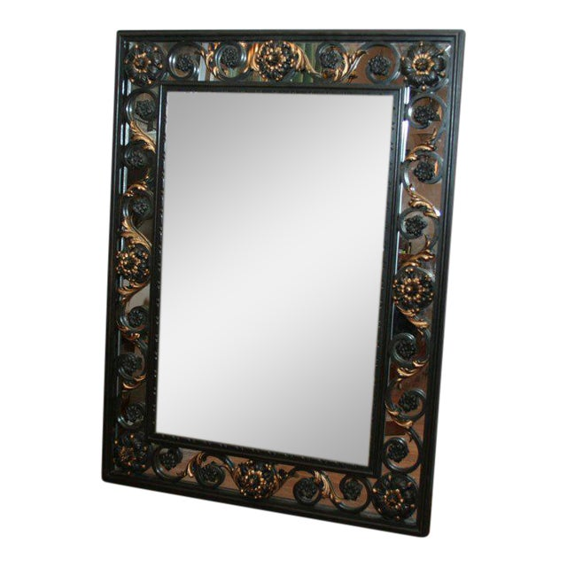 Art Deco Mirror Attributed to Poillerat For Sale