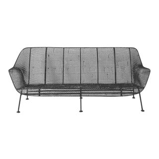 Mid-Century Modern Woodard Outdoor Sofa For Sale