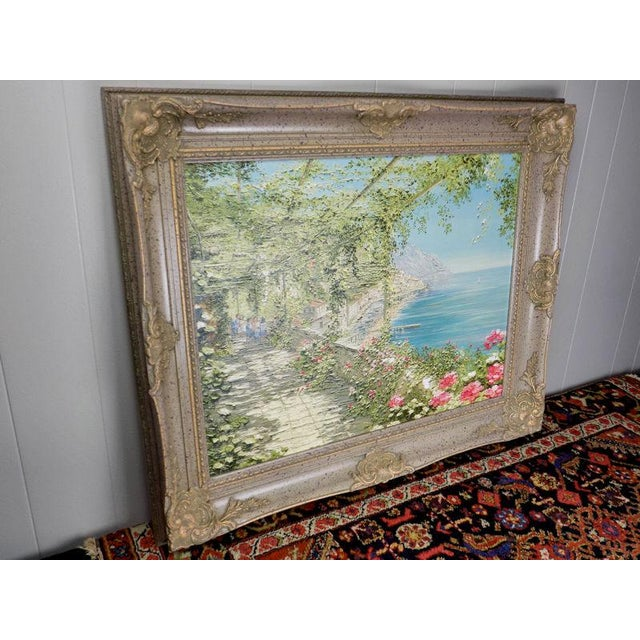 Impressionist Liliana Frasca 'Amalfi' the Museum Shop Brushstrokes Collection Print For Sale - Image 3 of 12