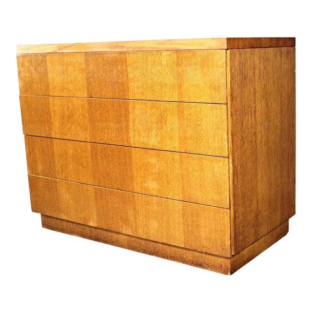 1950 Mid Century Modern Oak Dresser