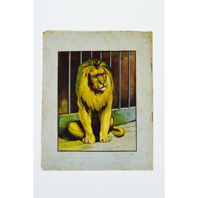 """Animals of All Lands"" Linen Children's Book - Image 11 of 11"