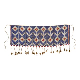 Vintage Fulani Beaded Skirt Apron For Sale
