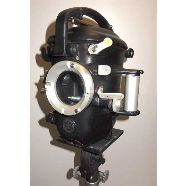 Bolex Underwater Cinema Camera Housing With Tripod, Vintage, Classic, Sculpture For Sale - Image 10 of 13