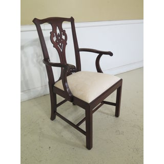 Henkel Harris Model 102 Mahogany Dining Room Chairs- Set of 8 Preview