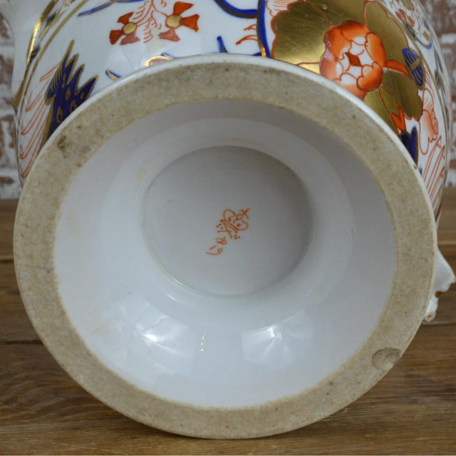 19th Century Crown Derby Old Japan Footed Bowl - Image 5 of 10