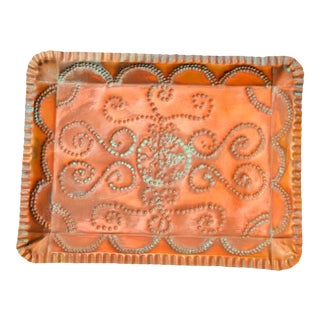 Handmade Moroccan Tray For Sale