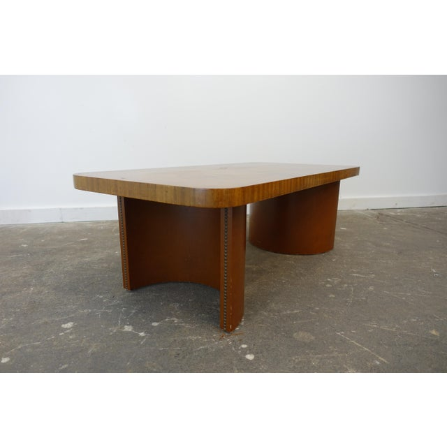 1950s Mid-Century Modern Gilbert Rohde Coffee Table For Sale In Cleveland - Image 6 of 9