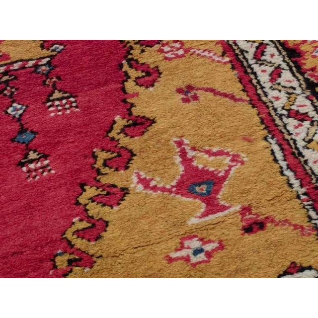 Mid 19th Century Antique West Anatolian Long Rug For Sale - Image 5 of 7