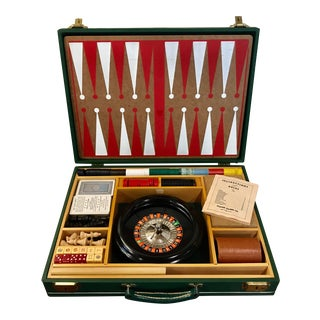 1950s Mid Century Casino & Board Games Set For Sale