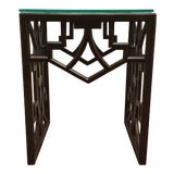 Image of Asian Modern Currey & Co. Nador End Table For Sale