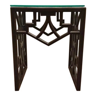 Asian Modern Currey & Co. Nador End Table For Sale