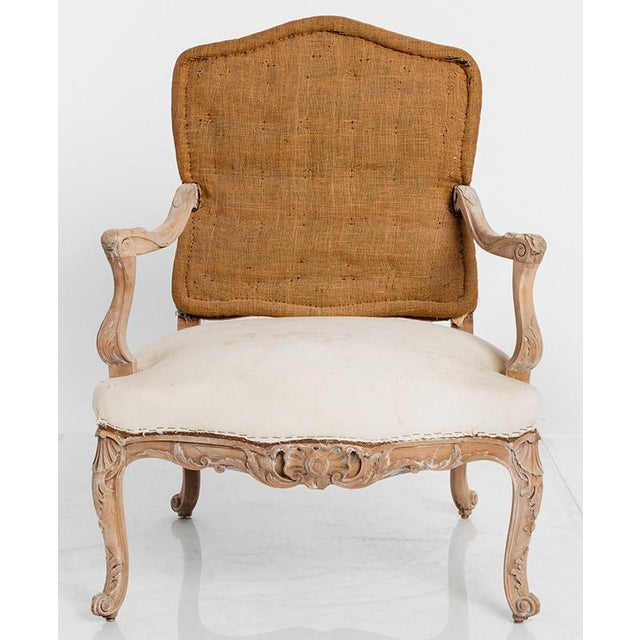 Late 19th Century PAIR OF ANTIQUE LOUIS XV CHAIRS For Sale - Image 5 of 6