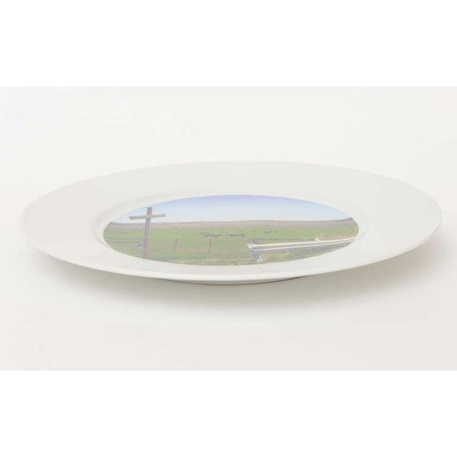 """Upstate Collection"" Porcelain Charger/Serving Plate - Image 3 of 8"