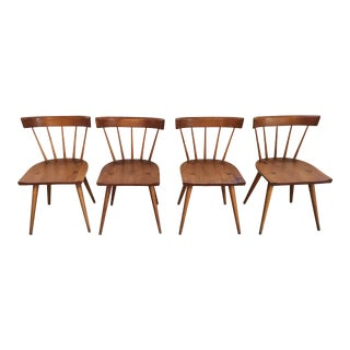 Vintage Mid Century Paul McCobb Planner Group Chairs- Set of 4 For Sale