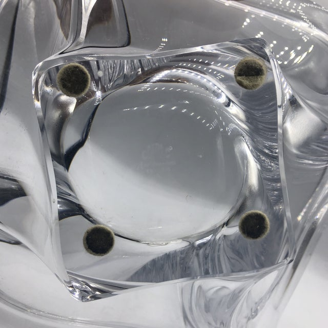 Cofrac Crystal Centerpiece Bowl For Sale In Miami - Image 6 of 7